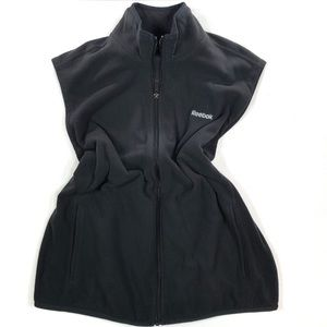 Reebok Black Soft Zipper Vest